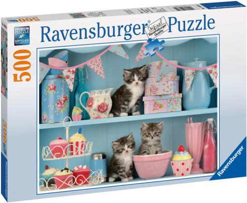 Пазл Ravensburger Котята и кексы 500 элементов 14684