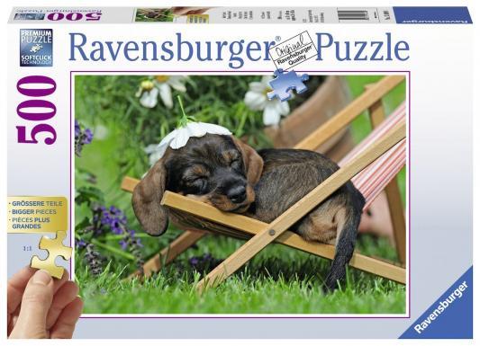 Пазл Ravensburger Милая такса 500 элементов 13649