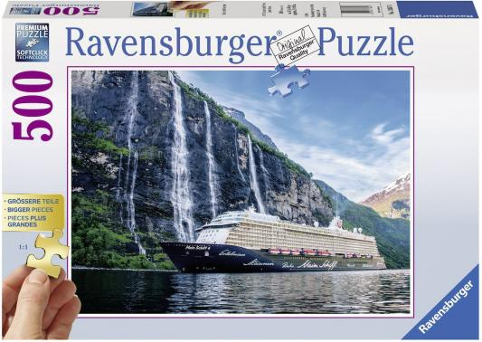 Пазл Ravensburger Мой корабль 4 во фьорде 500 элементов 13647 пазл 200 элементов ravensburger мой первый питомец 12810