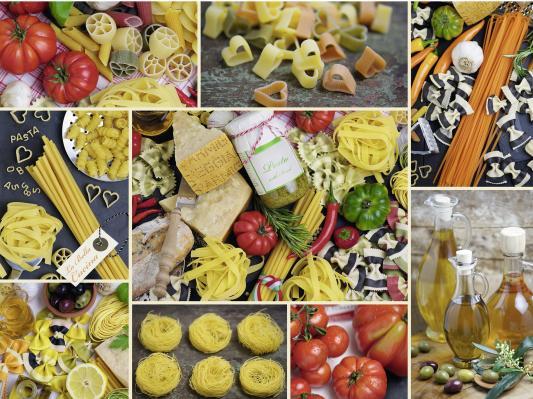 Пазл Ravensburger Паста 1500 элементов игрушка канатная mrpet восьмерка с мячем цвет желтый красный 25 см