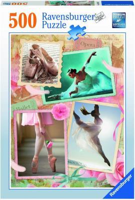 Пазл Ravensburger Прима-балерина 500 элементов 14647 ravensburger пазл прима балерина 500 деталей
