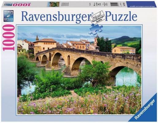 Пазл Ravensburger Пуэнте-ла-Рейна, Испания 1000 элементов 19425 пазл ravensburger озеро эйб 1000 элементов