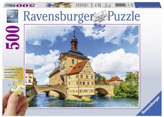 Пазл Ravensburger Ратуша, Бамберг 500 элементов