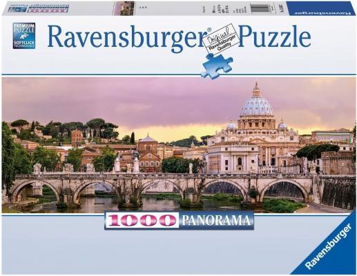 Пазл Ravensburger Рим 1000 элементов пазлы ravensburger пазл панорамный пляжные корзинки на зюлте 1000 элементов