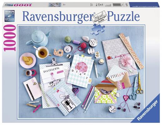 Пазл Ravensburger Сделай сам 1000 элементов пазл ravensburger озеро эйб 1000 элементов