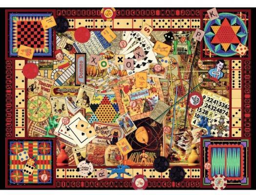 Пазл Ravensburger Старинные игры 1000 элементов пазл магнитный 18 x 27 126 элементов printio кошка