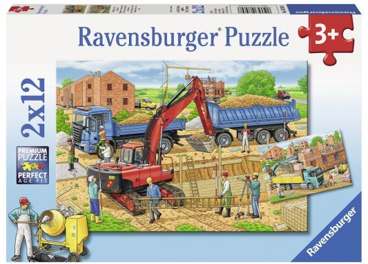 Пазл Ravensburger Стройка дома 24 элемента
