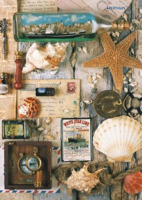 Пазл Ravensburger Морские сувениры 1000 элементов ravensburger ravensburger пазл венеция 1000 шт