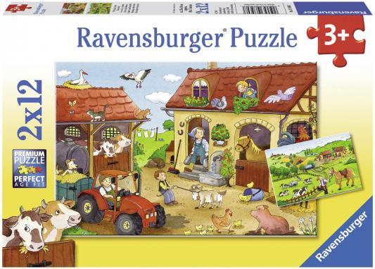 Пазл Ravensburger Работа на ферме 24 элемента 07560