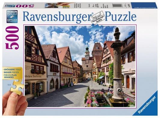 Пазл Ravensburger Ротенбург 13607 500 элементов платья nasha платье