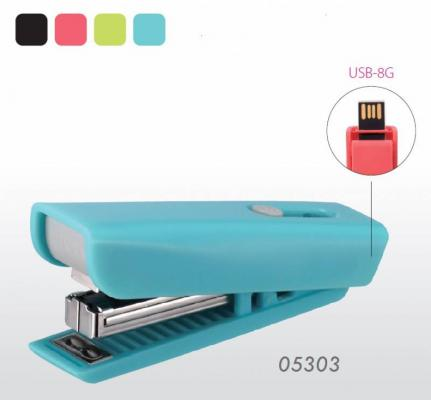 Степлер Kw-Trio 053034 8G USB Twist N10 50скоб10листов пластик kw trio 053034 8g usb twist n10