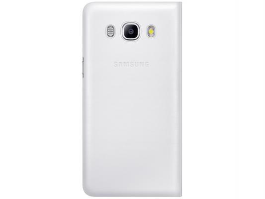 Чехол флип-кейс Samsung для Samsung Galaxy J7  Flip Wallet белый EF-WJ710PWEGRU