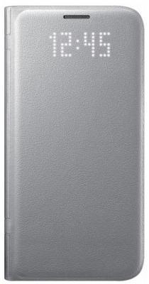 Чехол флип-кейс Samsung для Samsung Galaxy S7 LED View Cover серебристый EF-NG930PSEGRU