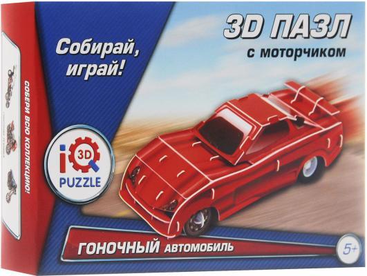 Пазл 3D Fusion Toys Красный гоночный автомобиль, инерционный 29 элементов FT20013
