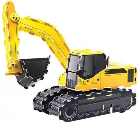 Пазл 3D Fusion Toys Экскаватор 47 элементов 111008