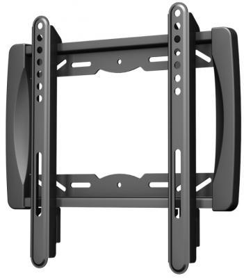 "Кронштейн VOBIX VX 3710 B черный для ЖК ТВ 17-37"" VESA до 200 х 200 мм 40кг кронштейн для тв и панелей vobix vx 5533 b vx 5533 b vobix чер"