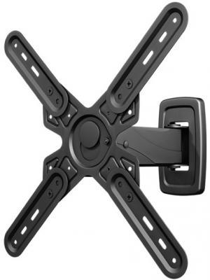 Кронштейн VOBIX VX 4623 B черный для ЖК ТВ 26-55 VESA до 100х100, 200х100, 200х200, 300х300, 400х400 мм 35кг цена