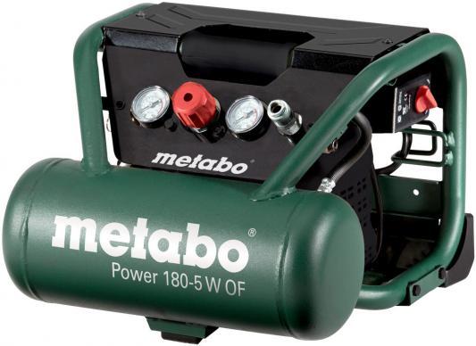 Компрессор Metabo Power 180-5WOF безмасляный поршневой 601531000 компрессор metabo power 25010 w of 601544000