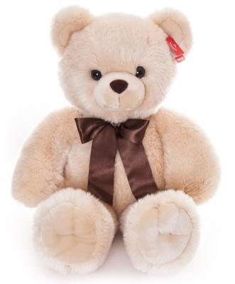 Мягкая игрушка Aurora Медведь искусственный мех кремовый 80 см