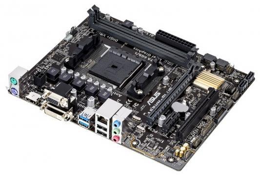 Мат. плата для ПК ASUS A68HM-PLUS Socket FM2+ AMD A68H 2xDDR3 1xPCI-E 16x 1xPCI 1xPCI-E 1x 4xSATAIII mATX Retail