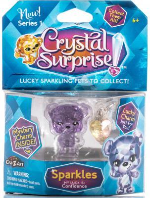 Фигурка Crystal Surprise Медвежонок с подвесками 45704