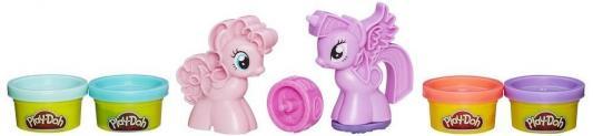 Набор для творчества Hasbro Play-Doh Пони Знаки отличия от 3 лет 7 шт B0010