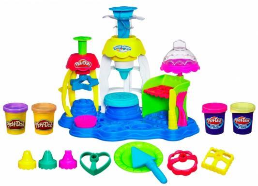 Набор для творчества Hasbro Play-Doh Фабрика пирожных от 3 лет А0318 let s play make believe