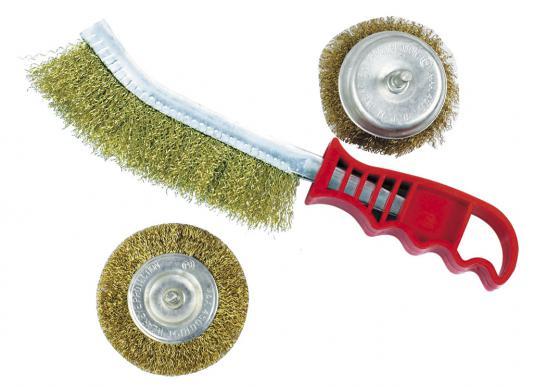 Набор зачистных щеток ZIPOWER PM 4233