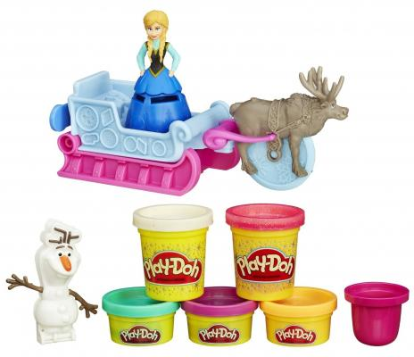 Набор для творчества Hasbro Play-Doh Холодное Сердце от 3 лет play doh игровой набор магазинчик домашних питомцев