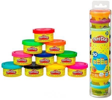 Набор для творчества Hasbro Play-Doh Для Праздника в тубусе от 3 лет 103 набор для творчества hasbro hasbro набор play doh сумасшедшие прически