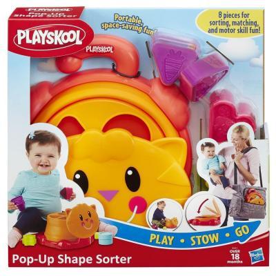 Сортер Hasbro складной Playskool оружие игрушечное hasbro hasbro бластер nerf n strike mega rotofury