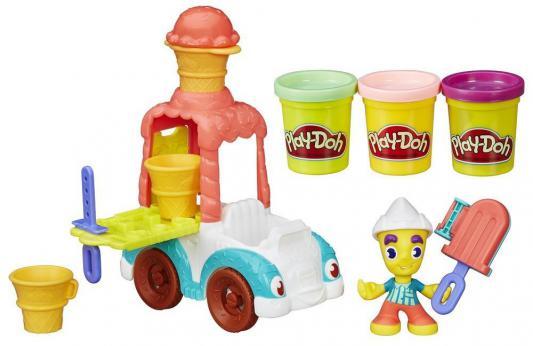 Набор пластилина Hasbro Play-Doh Грузовичок с мороженым от 3 лет hasbro hasbro набор play doh кран page 5 page 3