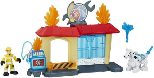 Игровой набор Hasbro Transformers Спасатели B4963 игровой набор hasbro playskool heroes трансформеры спасатели гоночные машины спасатели b5582 b4963
