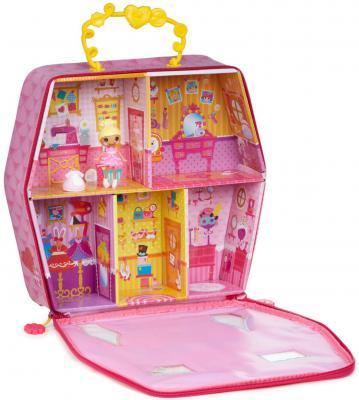 Игровой набор Lalaloopsy Mini домик-переноска с куклой и аксессуарами