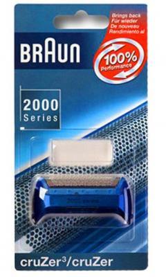 Сетка Braun 2000 Cruzer Calypso Blue 20S без ножей сетка braun 2000 cruzer 20s без ножей