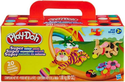 Набор для лепки Hasbro Play-Doh от 2 лет 20 шт A7924 let s play make believe