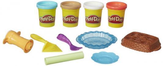 Набор для лепки Hasbro Play-Doh Ягодные тарталетки от 3 лет B3398 hasbro play doh набор из 6 баночек блестящая коллекция с 3 лет