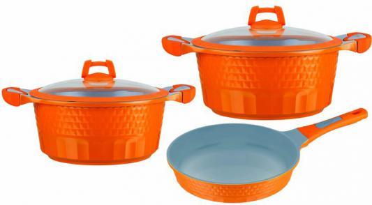 все цены на  Набор посуды Winner WR-1302 5 предметов алюминий  онлайн