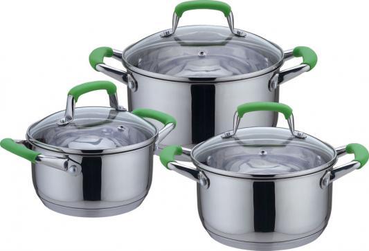 Набор посуды Bekker DeLuxe BK-1738 3 предмета disney набор детской посуды королевские питомцы 3 предмета