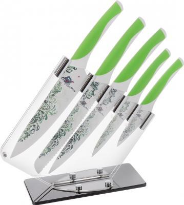 Набор ножей Mayer&Boch 20721 6 предметов антибактариальное покрытие на подставке