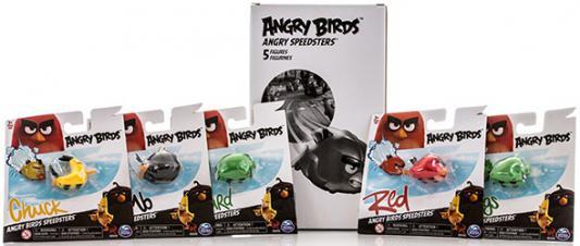 Игровой набор Angry Birds 5 птичек на колесах