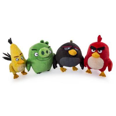 Мягкая игрушка Angry Birds Плюшевая птичка 778988218143 в ассортименте