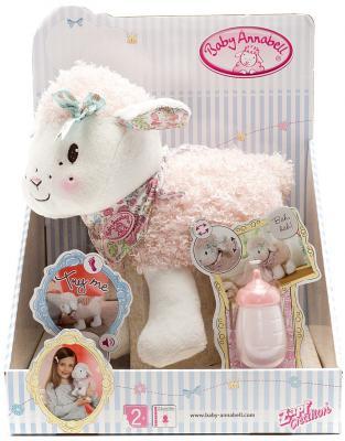 Кукла Zapf Creation Baby Annabell Овечка 23 см со звуком пьющая ходячая 4001167793770