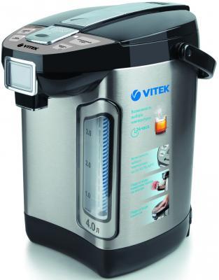 Термопот Vitek VT-1198ST 800 Вт серебристый 4 л нержавеющая сталь