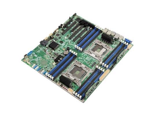 Мат. плата для ПК Intel DBS2600CW2R Socket 2011-3 C612 8xDDR4 4xPCI-E 16x 1xPCI-E 4x 1xPCI-E 8x 10xSATAIII SSI EEB Retail