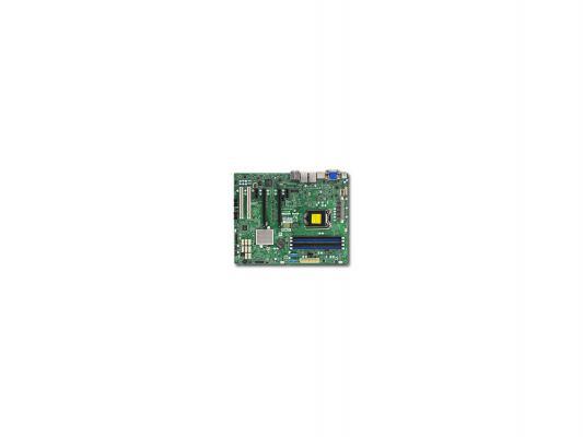 Мат. плата для ПК Supermicro MBD-X11SAE-F-O Socket 1151 C236 4xDDR4 2xPCI-E 16x 2xPCI 2xPCI-E 1x 8xSATAIII ATX Retail