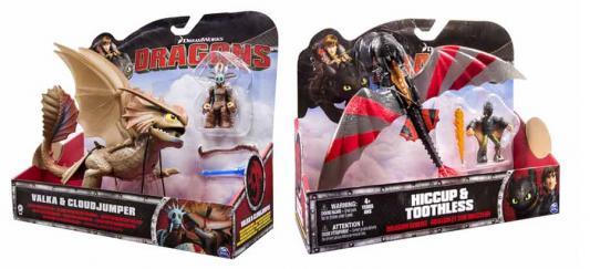 Игровой набор Dragons Большой дракон и всадник 2 предмета 778988108116 В ассортименте