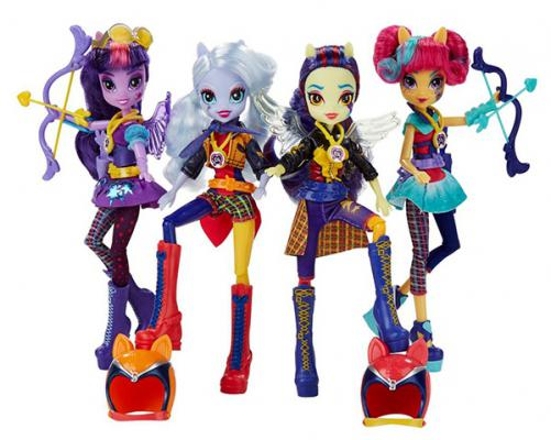 Игровой набор Hasbro My Little Pony Equestria Girls Кукла спорт Темномолнии