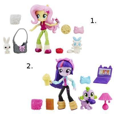 Игровой набор Hasbro My Little Pony Equestria Girls Мини-кукла с аксессуарами В6358
