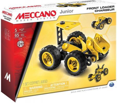 Конструктор Meccano Фронтальный погрузчик 65 элементов meccano эйфелева башня 2 модели meccano
